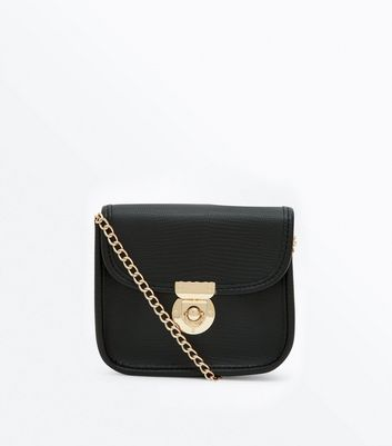 Black Micro Cross Body Bag