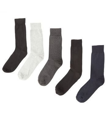 5 Pack Mixed Gradient Colour Socks
