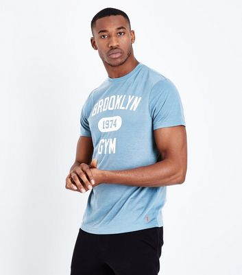 Blue Brooklyn Gym Sports T-Shirt