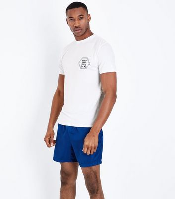 White Brooklyn Running Club Sports T-Shirt