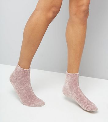 Pink Super Soft Slipper Socks