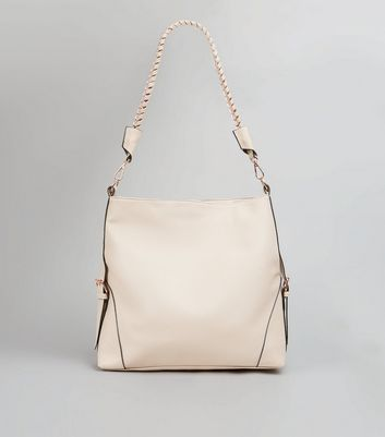 Shell Pink Hobo Bag