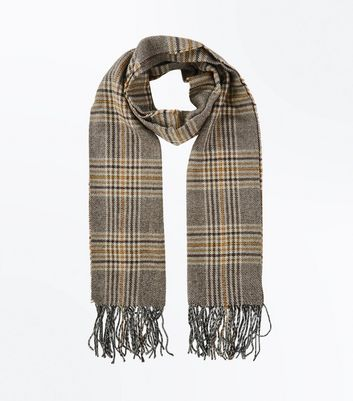 Mink Check Scarf