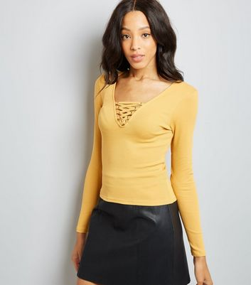Mustard colored dress for women