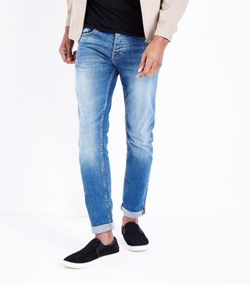 Light Blue Slim Leg Jeans