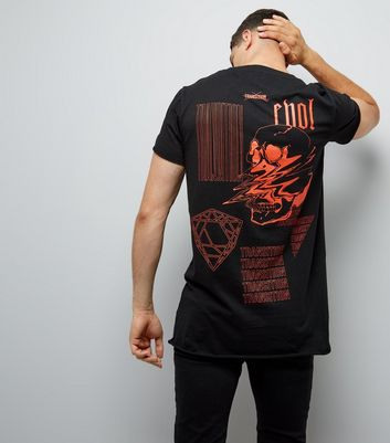 Black Transition Print T-Shirt