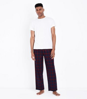 Red Check Pyjama Bottoms
