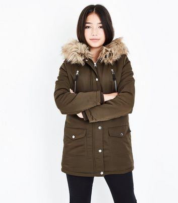 Girls' Jackets & Coats | Denim Jackets & Parka Coats | New Look