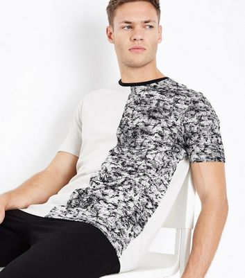 Stone Spliced T-Shirt