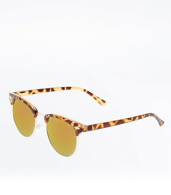 Dark Brown Holographic Sunglasses