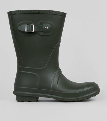 Khaki Mid Calf Wellies