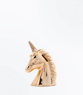 Pink Ceramic Unicorn Money Box