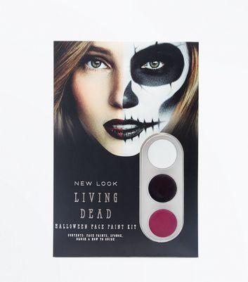 Halloween Skull Face Paint Kit