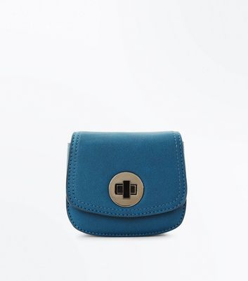 Teal Clip On Micro Bag