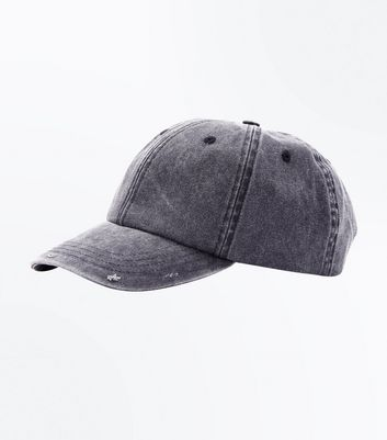 Grey Washed Cap