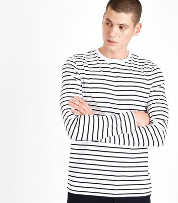 Black Stripe Long Sleeve T-Shirt
