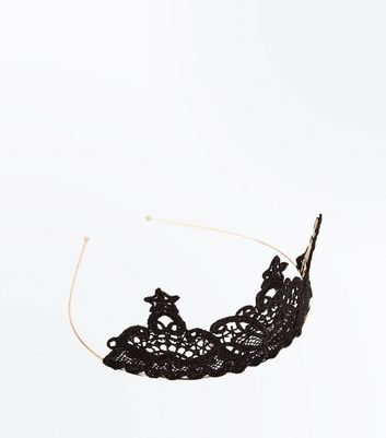 Black Lace Tiara