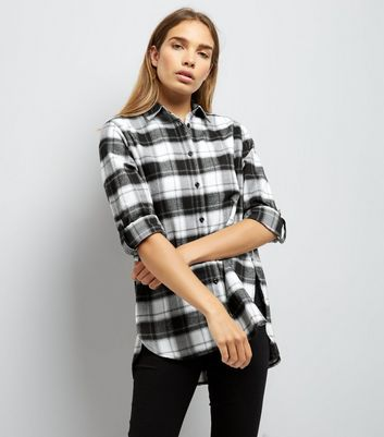 Parisian Black Check Shirt