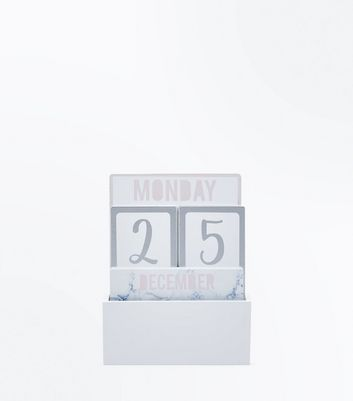Marble Calender Stand