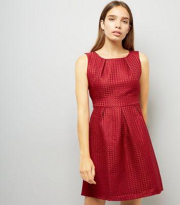 ... Mela Red Tulip Dress ...