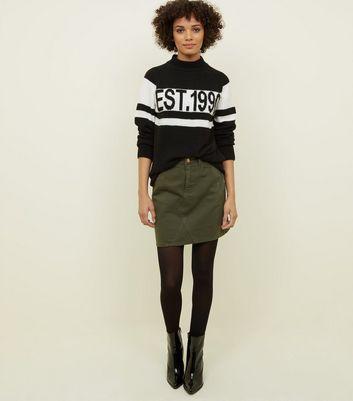 b5b03afcd0b https   www.newlook.com uk womens clothing skirts black-cotton-mix ...