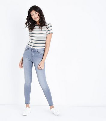 Grey Super Soft Super Skinny India Jeans