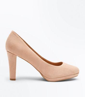 Mee Shoes Womens Chic Zip Block Heel Court Shoes  XE1DHJAUF