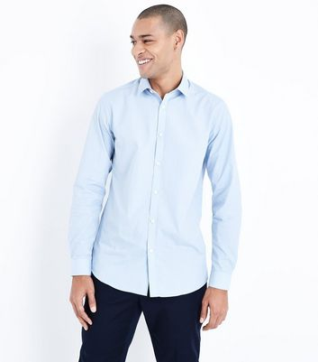 Pale Blue Long Sleeve Shirt