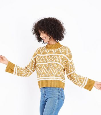 Yellow Fairisle Knit Jumper