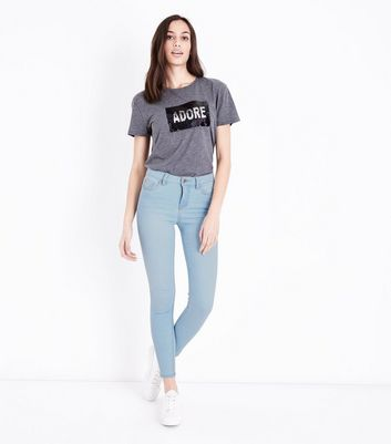 Pale Blue Super Soft Super Skinny India Jeans