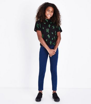 Teens Blue Super Skinny Jeans