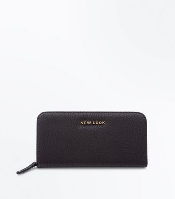 Black New Look Branded Purse
