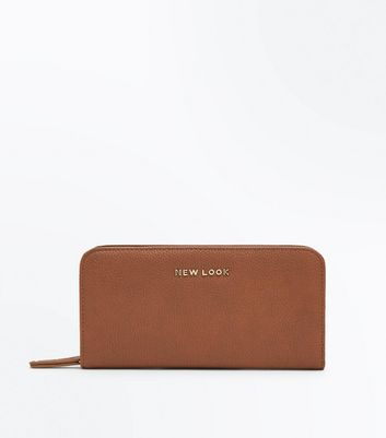 Tan New Look Branded Purse
