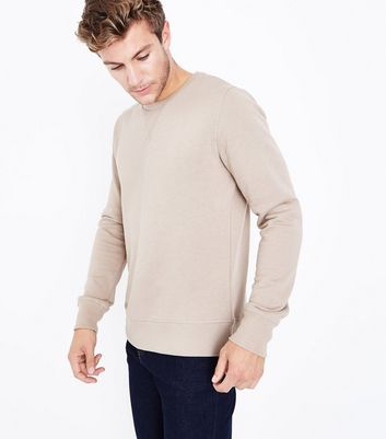 Camel Crew Neck Sweater