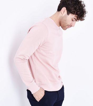Pink Crew Neck Sweater