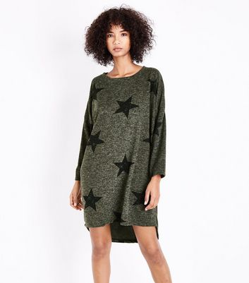 QED Green Star Tunic Dress