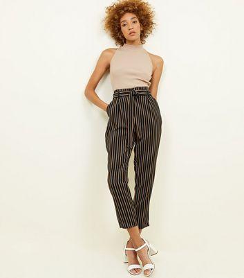 Womens Pantalon Bande Erin Nouveau Look wQHpoRMb7B