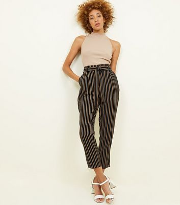 Womens Pantalon Bande Erin Nouveau Look bnkGK