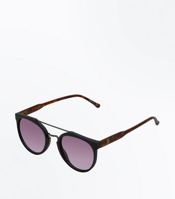 Black Bar Front Sunglasses