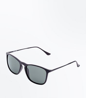 Black Keyhole Sunglasses