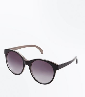 Black Ombré Lens Sunglasses