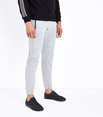 Dark Grey Textured Joggers