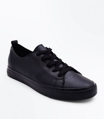 Black Low Top Trainers