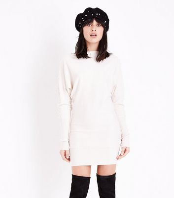QED Stone Pearl Embellished Jumper Dress