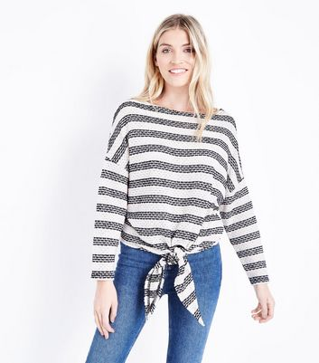 Womens Texture Multi Stripe T-Shirt New Look Fashionable For Sale o8H87