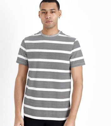 Grey Stripe T-Shirt