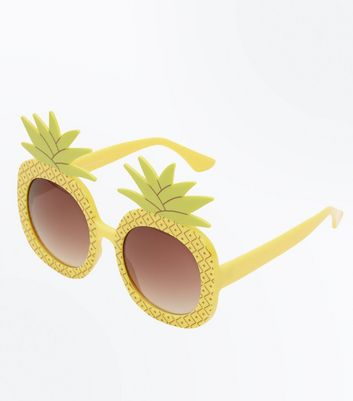 Yellow Pineapple Sunglasses