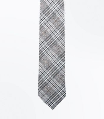 Light Grey Prince Of Wales Tie
