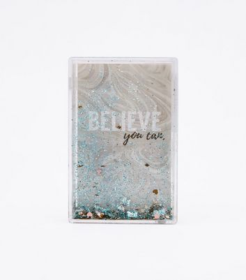 Blue Believe You Care Shake It Frame