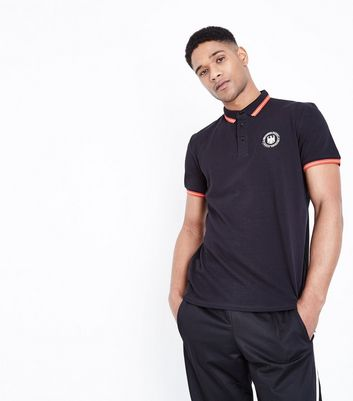 Black Germany Football Polo Shirt